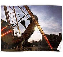 The Pirate Ship at Astroland  Poster