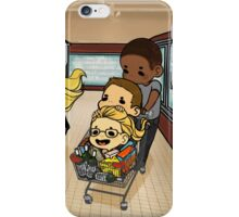 Team Arrow Goes grocery shopping! iPhone Case/Skin