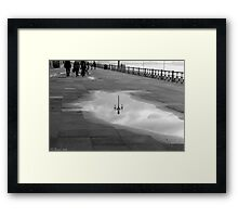 Blackpool Promenade  Framed Print
