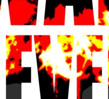 War Never Changes Sticker