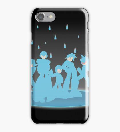 Blue Megaforce iPhone Case/Skin
