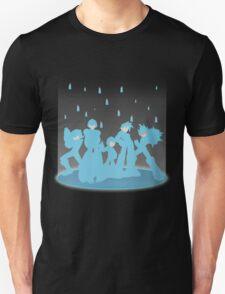 Blue Megaforce Unisex T-Shirt