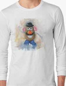 Mr Potato Head - vintage nostalgia  Long Sleeve T-Shirt
