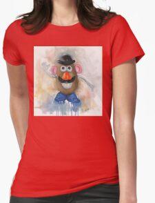 Mr Potato Head - vintage nostalgia  Womens Fitted T-Shirt