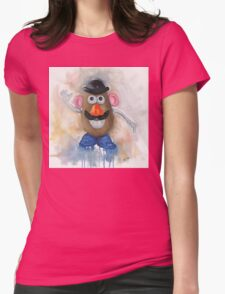 Mr Potato Head - vintage nostalgia  Womens Fitted T-Shirt