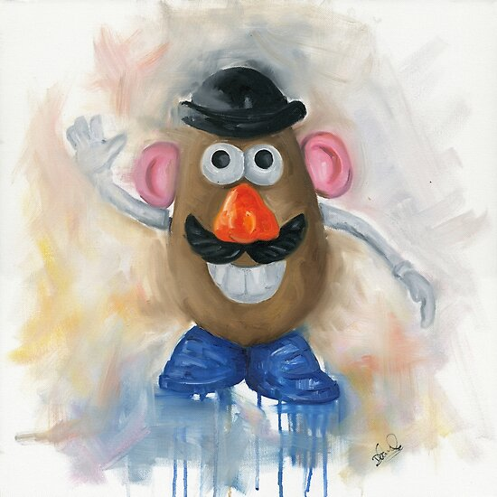Mr Potato Head - vintage nostalgia  by Deborah Cauchi