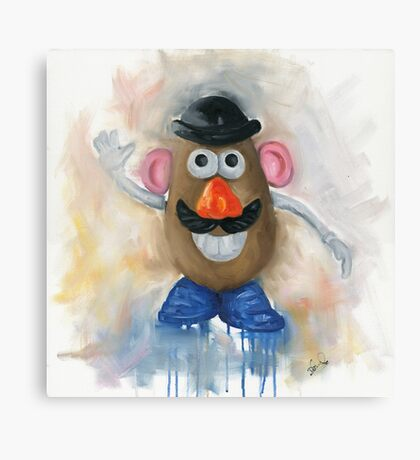 Mr Potato Head - vintage nostalgia  Canvas Print