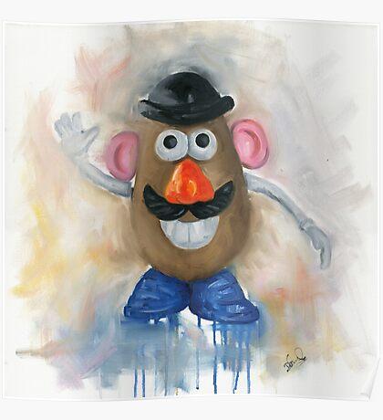 Mr Potato Head - vintage nostalgia  Poster