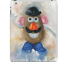 Mr Potato Head - vintage nostalgia  iPad Case/Skin