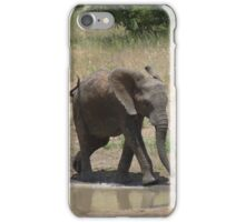 'I'm So Excited, I Just Can't Hide It.......' - Timbavati, South Africa iPhone Case/Skin