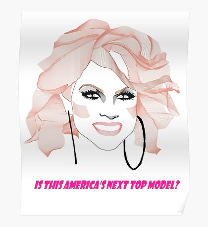 Courtney Act - America's next top model Poster