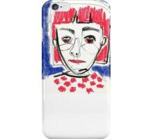 Girl Sketch iPhone Case/Skin