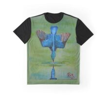 Kingfisher Diving Graphic T-Shirt
