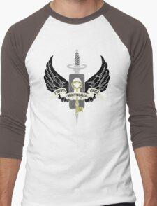 Nightingales Men's Baseball ¾ T-Shirt