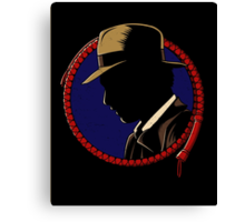 Hardboiled Professor Canvas Print