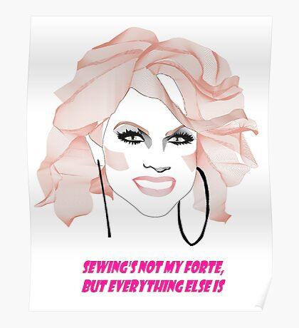 Courtney Act - My forte Poster