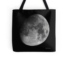 Moon - Waxing Gibbous Tote Bag