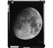 Moon - Waxing Gibbous iPad Case/Skin
