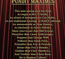 Pundit Maximus Poem by PM Poem