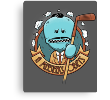 A Meeseeks Obeys Canvas Print
