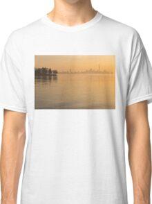 Soft Gold - Toronto Skyline In Velvety Morning Mist Classic T-Shirt