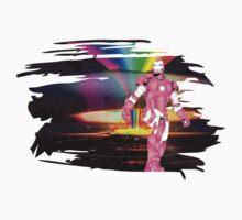 Iron man - in raimbow by rasgadow