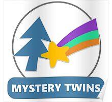 Mystery Twins Emblem Poster