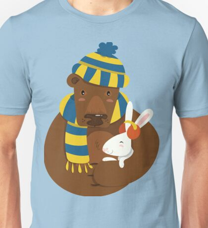 Bear and Bunny Unisex T-Shirt