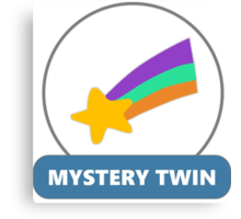 Mystery Twin #2 (Mabel Pines) Canvas Print