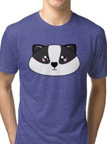 Badger - Forest animal collection Tri-blend T-Shirt
