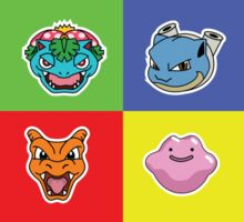 Pokemon Forever blue'n'red Sticker