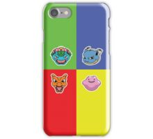Pokemon Forever blue'n'red iPhone Case/Skin