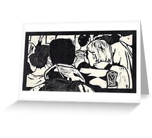 Out of the Crowd Greeting Card
