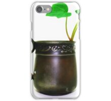 antique baby cup iPhone Case/Skin
