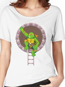 Mikey hanging out Women's Relaxed Fit T-Shirt