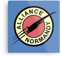 Alliance Normandy Metal Print
