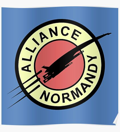 Alliance Normandy Poster