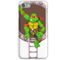 Raph hanging out iPhone Case/Skin
