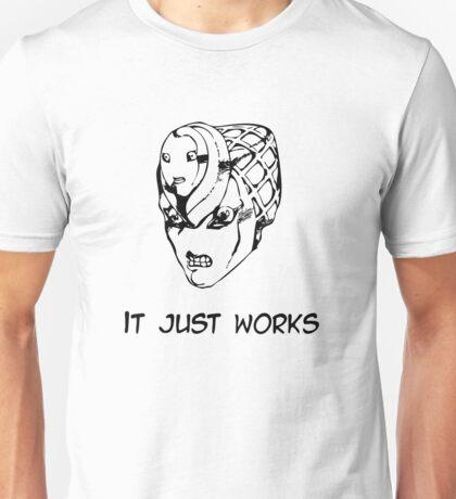 Jojo - It just works (Variant 2 Black) Unisex T-Shirt