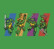 TMNT Turtles in Time Characters Kids Clothes