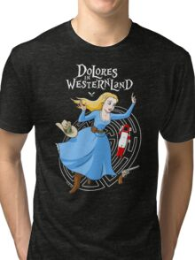 Dolores in Westernland Tri-blend T-Shirt