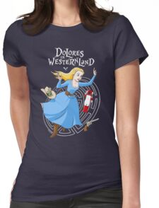 Dolores in Westernland Womens Fitted T-Shirt