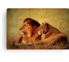 Alerted Canvas Print