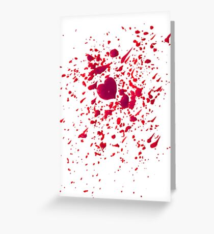 #LOVEHURTS (Zombies) Greeting Card