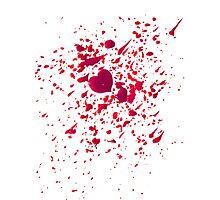 #LOVEHURTS (Zombies) Photographic Print