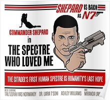The Spectre Who Loved Me Poster
