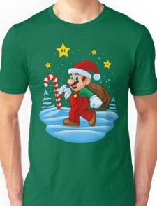 Mario Xmas Unisex T-Shirt