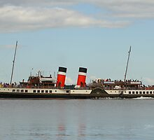 PS Waverley leaving Brodick by Jonathan Cox