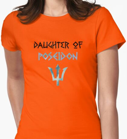 daughter of poseidon Womens Fitted T-Shirt