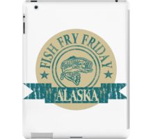 ALASKA FISH FRY iPad Case/Skin